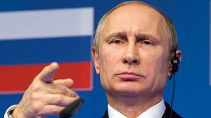 Authoritarian president Vladimir Putin